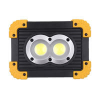 LED Glare Charging COB Flood Light Home Outdoor Square LED Emergency Light Camping Camping Site Portable Light + Charging Line