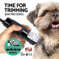 Профессиональные электрические триммеры для стрижки домашних собак кусачки для стрижки инструмент перезаряжаемая машинка для стрижки кош...