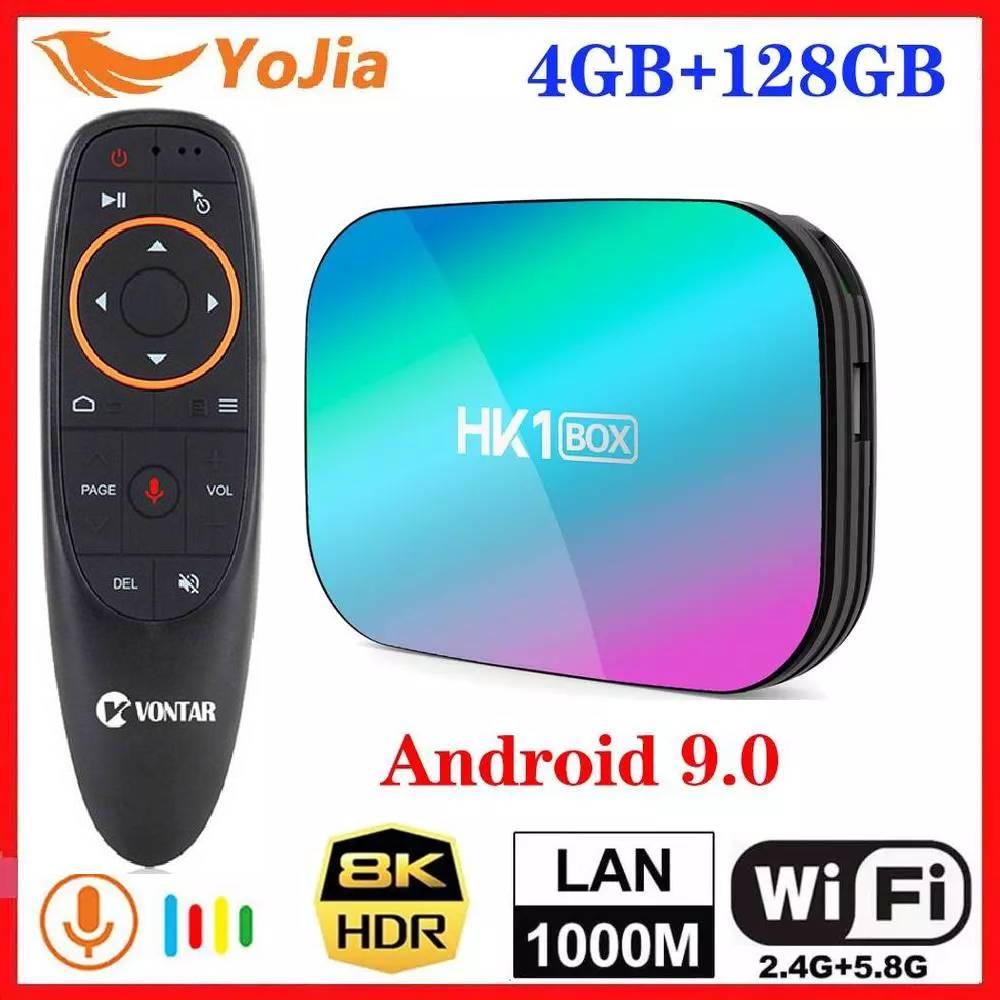 2020 NEW Smart 8K TV Box Android 9.0 Amlogic S905X3 Max 4GB RAM 128GB ROM 1000M 2.4/5G Wifi Google Netflix Youtube Set Top Box