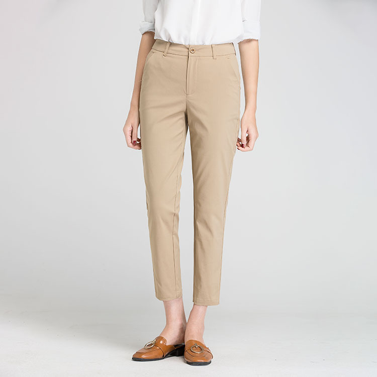 2019 New Summer Women Casual High Quality Long Pants Fashion Windprppf Ladies Pants V16