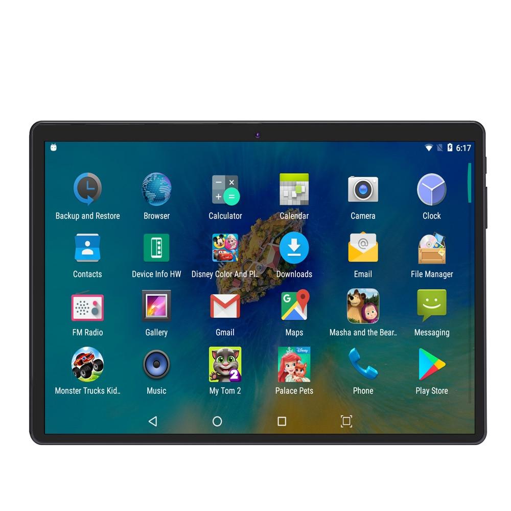 Pantalla IPS de 10 pulgadas llamada de teléfono 3G tableta Android 4GB 64GB Android 7,0 Octa Core Dual SIM soporte teléfono móvil GPS - 5