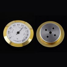 GALINER Round Hygrometer Mini Cigar Humidor Accessories Portable Succulometer for Case Box