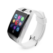 лучшая цена For Q18 Smart Watch Mobile Phone Exquisite Card Smart Wear Beautiful Curved Fashion Watch Gift Professional