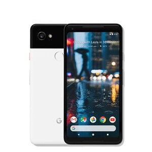 Image 3 - גוגל פיקסל 2 XL 6.0 אוקטה Core 4G LTE מקורי חדש אנדרואיד 8. 0 2880*1440 4GB RAM 64GB 128GB ROM טלפון נייד טביעת אצבע