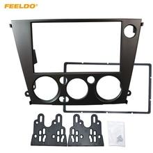FEELDO רכב רדיו סטריאו 2DIN תקליטור DVD Fascia מסגרת מתאם עבור סובארו Legacy/אאוטבק (LHD) לוח מחוונים פנל מסגרת ערכות # MX2111