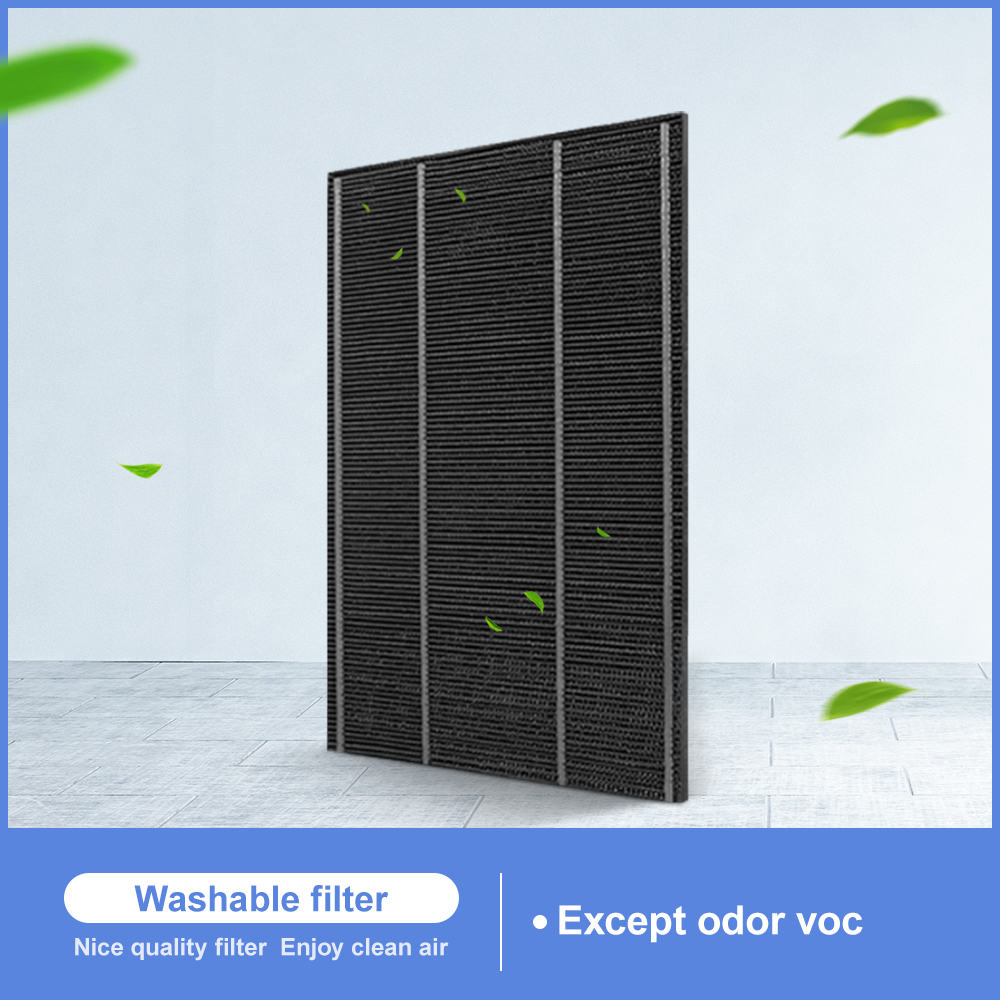 Washable Formaldehyde Activated Carbon Filter FZ-A51DFR FZ-200HFS For Sharp FZ-C100DFS Z280SW KC-A50EUW KC-W380SW-W Air Purifier