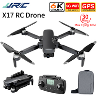 JJRC X17 GPS 5G WiFi 6K HD Camera 2 assi Gimbal flusso ottico Pos. Drone RC pieghevole senza spazzole RTF