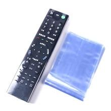 10 unids/lote transparente película para TV Control remoto de aire acondicionado funda protectora funda remoto a prueba de polvo de la cubierta de la bolsa
