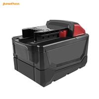 Bateria recarregável do li íon das ferramentas elétricas de battool para a substituição 48 11 6000 48 11 1815 48 11 1850 de milwaukee m18 18v 1840 mah Baterias recarregáveis     -