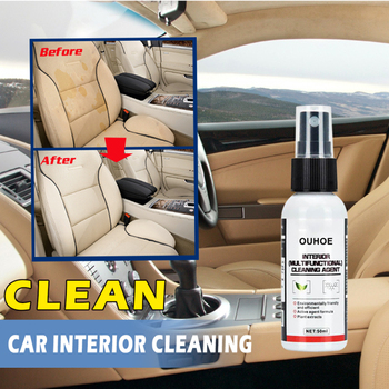 Automotive Interior Dry-Cleaning Seat Foam Dry Cleaning Agent furadeira Car Wash Upholstery Cleaner Car 1