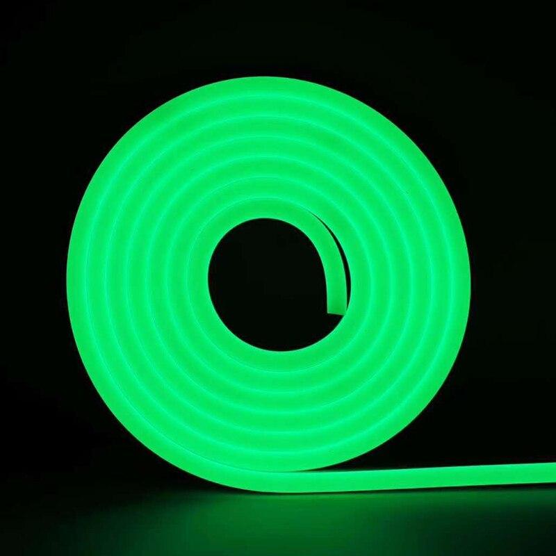 H4af18791f4564b75b8901ecbc7062fff9 - DC 12V RGB LED Strip Light Neon Light Waterproof SMD 2835 Flexible Ribbon Fita Strip Lamp 1/2/3/4/5 Meter Tape Home Decoration