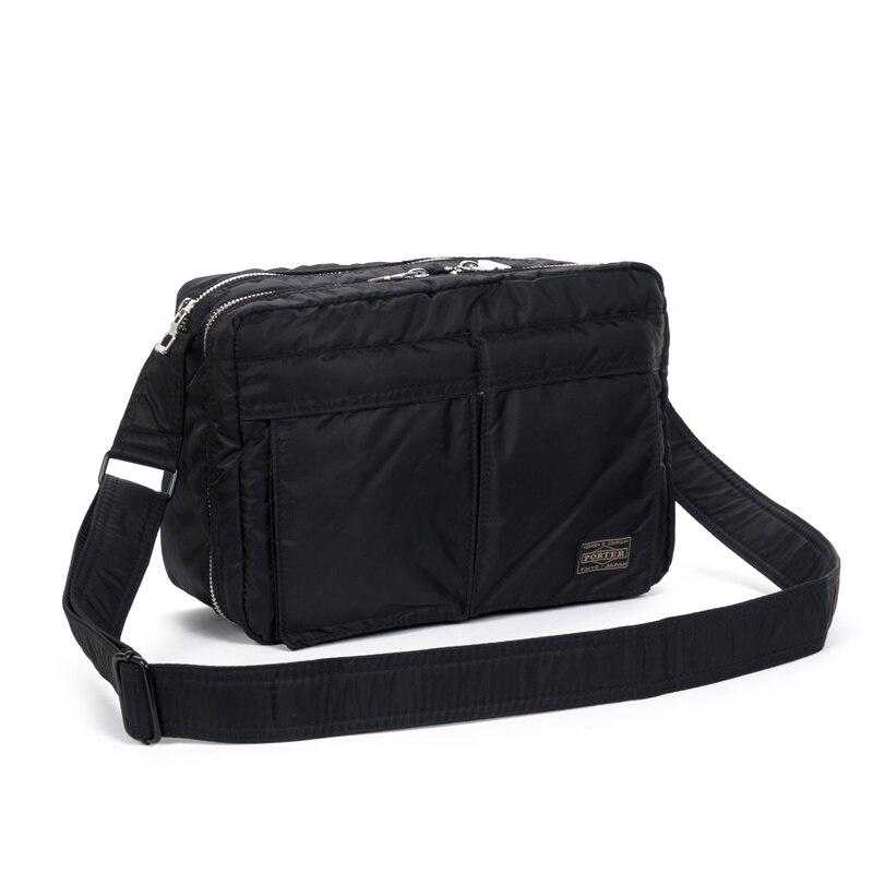 Head Porter Backpacks Men Women Casual Nylon Head Porter Backpack 3 Sizes Black   Bags Multi-pocket Multifunction Japan Bag