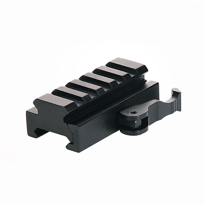 Quick Release Scope Mount QD 20mm Rail Picatinny Weaver Scope Base Mount 3/5 Slot Riser Hunting Sights Adpater For AR15 M16