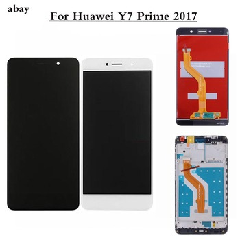 For HUAWEI Y7 Prime 2017 LCD Display Touch Screen Digitizer For Huawei Y7 Prime 2017 LCD TRT L21 L21A L21X LX2 LX1 LX3 5.5 Inch image