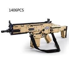 Модель современного военного оружия строительные блоки пистолет
