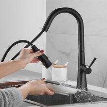 360 ° rotatble Кухня кран Палуба смеситель для кухни ванной