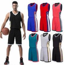 Баскетбольный костюм для мальчиков, детей, студентов, соревнований, тренировочная индивидуальная командная форма, женские свободные спортивные майки