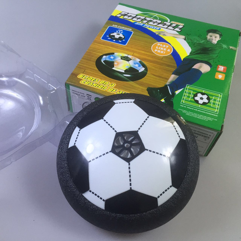 Indoor Suspended Air Soccer Light Electric Universal Air Cushion Football Suspension Football Parent And Child Play Interactive image