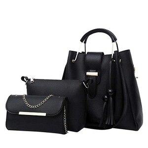 Puimentiua 4pcs Woman Bag Set