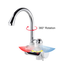 Instant Electric Water Heater Faucet Hot Water Heater LED EU/US plug Tankless Instantaneous Cold Heating Tap 220V/110V