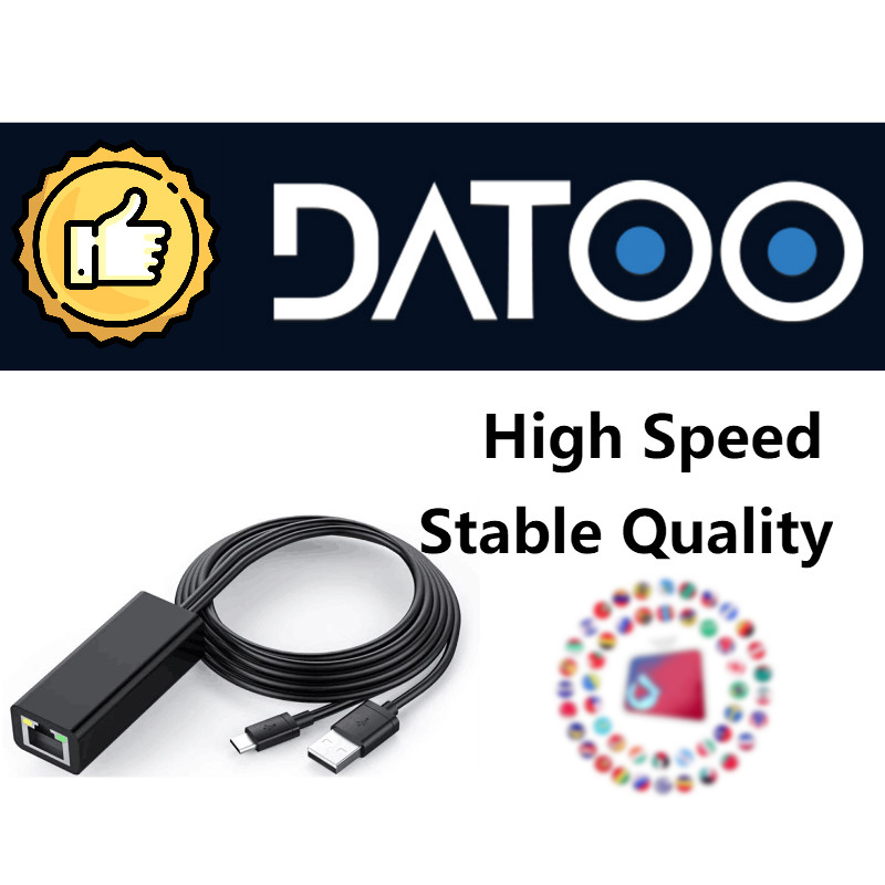Datoo Smart Android TV Stick World Europe TV Box Support 1 year Warranty
