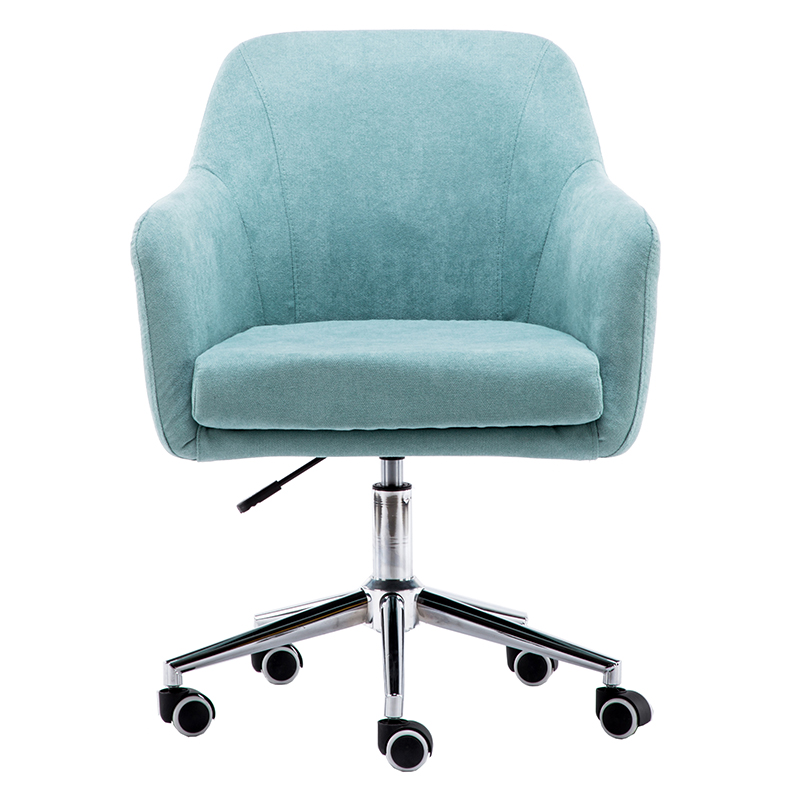 Computer Chair Home Office Chair Lifting Dormitory Chair Swivel Chair Seat Boss Chair Staff Gaming Cloth Nordic Simplicity