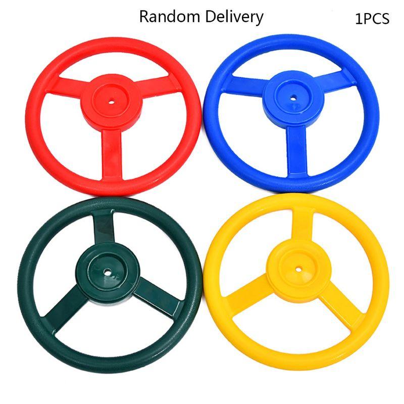 10 polegada crianças volante plástico playhouse selva