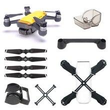 Für DJI Funken Zubehör Fernbedienung Joystick + Objektiv Kappe + Sonnenschirm + Propeller + Prop Clip Protector für DJI funken Drone