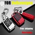 Чехол ZOBIG из мягкого ТПУ для защиты дистанционного ключа для Skoda Superb A7 для фолькваген ПАССАТ B8 VW Golf Car Stylin
