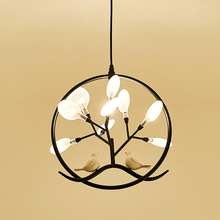 Pendant-Lights Bird-Lamp Dining-Room Kitchen Nordic-Design Fixture Modern Led