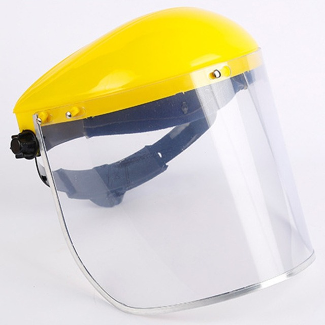 Protective Full Face Mask Welding Helmet Anti-UV Saliva Safety Anti Virus Shield Visor Workplace Protection Supplies 4