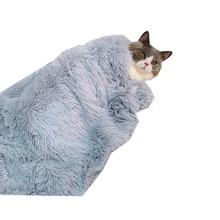 Пушистое длинное плюшевое одеяло для домашних животных, зимнее мягкое теплое одеяло для домашних животных, матрас для средних и больших собак, покрывало s
