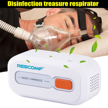 Ventilator Auto CPAP BPAP Cleaner Disinfector 2200mAh Sleep Apnea Anti Snoring  easy to carry JS88
