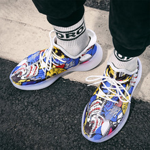 Hip Hop Graffiti Dad Men Shoes 2020 Kanye Fashion West Mesh