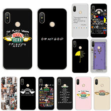 Central Perk Coffee friends TV Soft silicone Case For Xiaomi Mi Note10 9T CC9 9 8 A3 Lite Play A2 6x Redmi Note8T 8A 7 5 Pro 6 4(China)