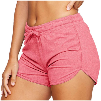 Women´s Shorts Ladies Summer Casual Females Sports Shorts Lace-up Run Bike Loose Pockets Solid Shorts Hot Fitness Gym Wear Running & Yoga Sports & Entertainment Sports and Outdoor Women Sportswear Yoga Pants Yoga Shorts Color: C Size: M