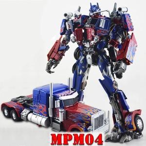 Image 1 - with box WJ Transformation MPM04 OP Commander Swordsman Alloy Deformation Children Toys Action figure robot Kids Gifts