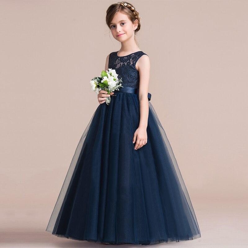 Summer Girls Dress Lace Princess Dress Tutu Party Wedding Dress Costume Kids Dresses For Girls Children Clothing 10 12 14 Years 1