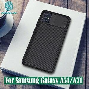 Image 1 - サムスンギャラクシー Samsung Galaxy A51 A71 ケース nillkin camshield スライドカメラカバープライバシークラシック三星 Samsung A51
