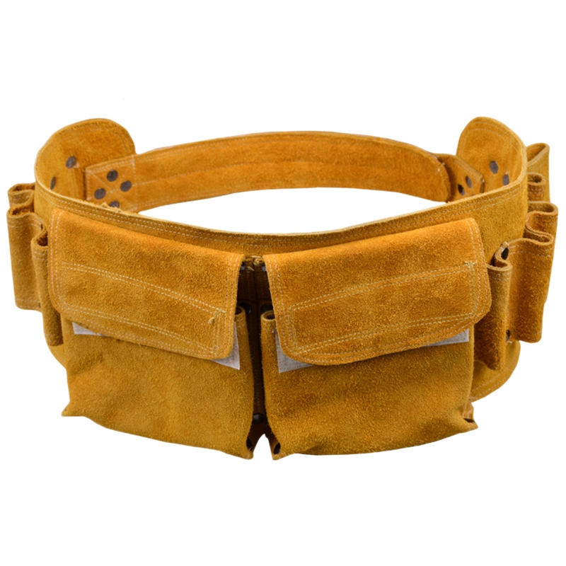 TOP Leather Repair Kit Bag Pocket Hardware Tool Belt For High-Altitude Construction Worker Electrician