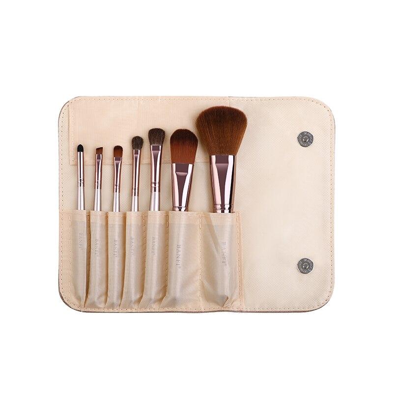 7pcs set Makeup Brush set for Cosmetic Powder Foundation Eyeshadow Lip Make up Brushes Set Beauty