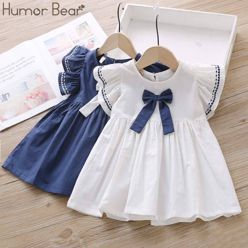 Humor Bear Dress For Girl 2019 New Brands Girl Dresses Tassel Hollow Out Design Princess Dress Kids Clothes Children S Clothes Nooncart