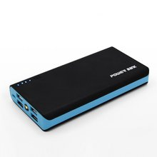 Power Bank Shell Case with LED Flashlight Powered By 6x 18650 Batteries 4 USB Ports 5V