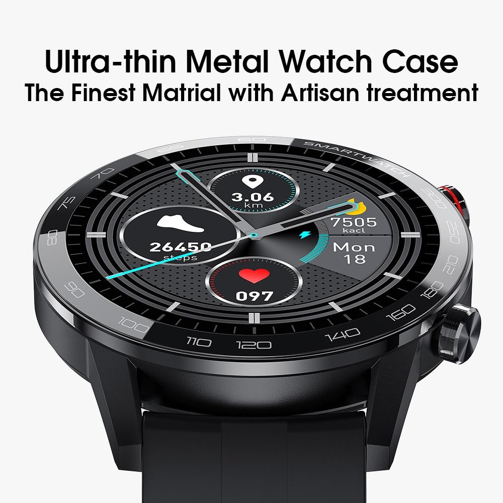 Nieuwe L5 Update L16 Smart Watch Heren IP68 Waterdicht Meerdere sporten Modus Hartslag Weersverwachting Bluetooth Smartwatch 4