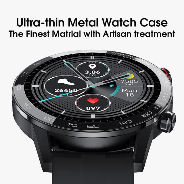 New L5 Update L16 Smart Watch Men IP68 Waterproof Multiple Sports Heart Rate Weather Forecast Fitness Smartwatch VS L13 GT2 4