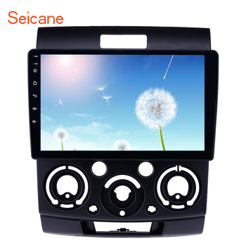 Seicane Touchscreen GPS Navigation Radio 9 inch Android 9.1 for Ford Everest/Ranger 2006-2010 with USB WIFI AUX support Carplay image