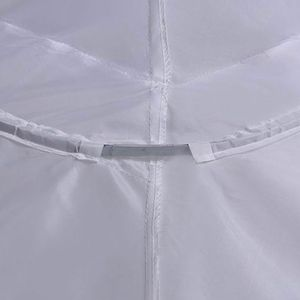 Image 4 - 3 Layer เส้นด้าย 2 hoops ชุดเจ้าสาวยาวผลกำไรในรอบกระโปรง Petticoat Elastic เอวปรับ Fishtail ลื่นกระโปรง