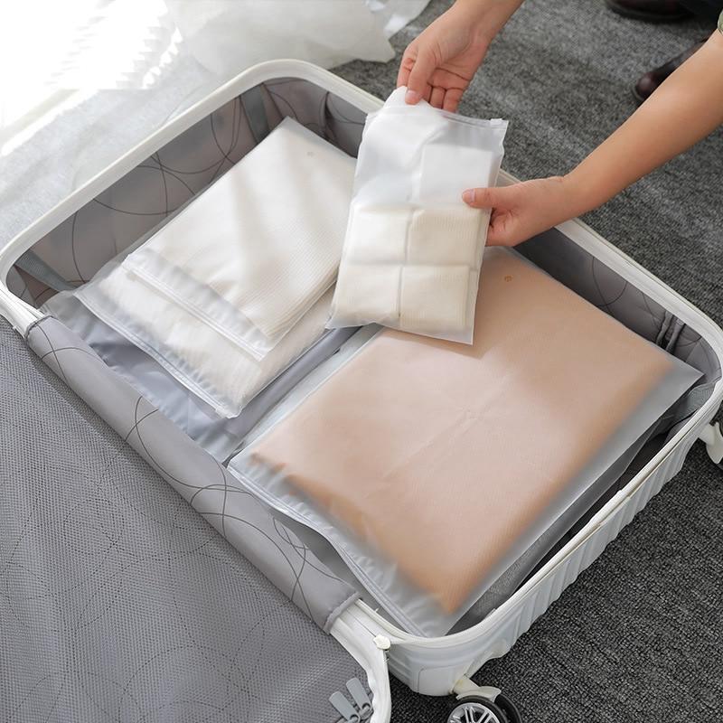 Travel Accessories Transparent Storage Bag Waterproof Cosmetic Makeup Case Organizer Toiletry Women Zipper Wash Bath Pouch