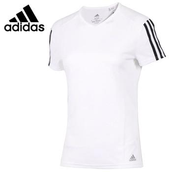 Original New Arrival  Adidas RUN 3S TEE W Women's T-shirts short sleeve Sportswear 1