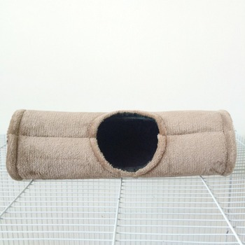 Hamster Hammock Pet Velvet Soft Warm Tunnel House Small Animals Tube Rat Ferret Toy Small Pet Parrot Hanging Cage Bed 2